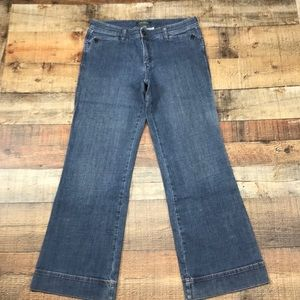 Eddie Bauer Boot Cut Jeans Size 10 Stretch